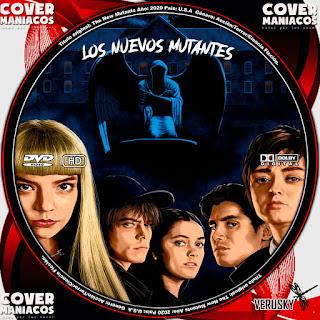 GALLETA LOS NUEVOS MUTANTES - THE NEW MUTANTS 2020[COVER DVD]