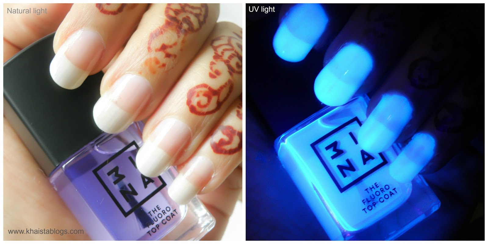 3ina uv makeup collection top coat review
