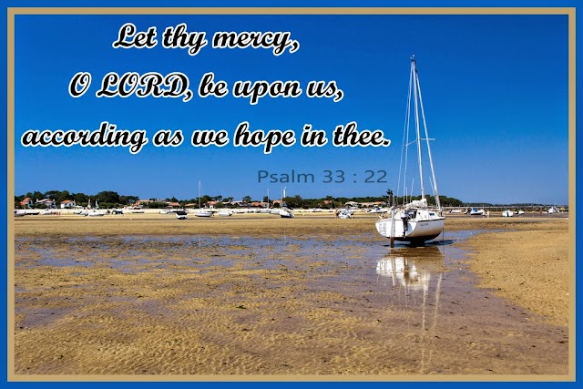 Hope and Mercy Bible Verse Wallpapers