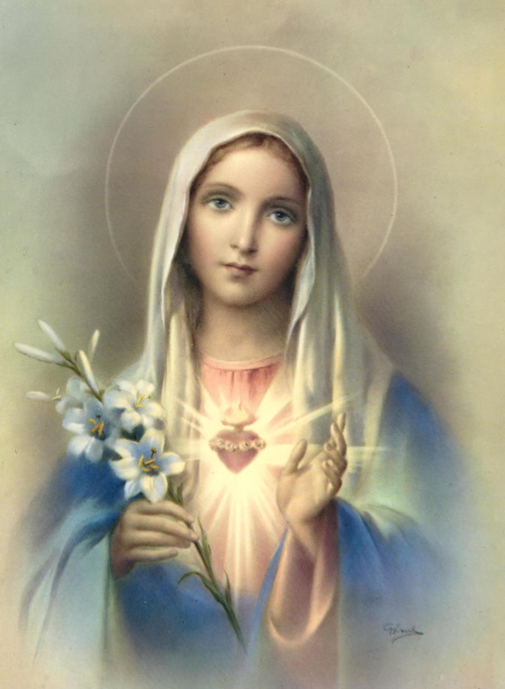 Pan para el Espíritu: Letanías de la Virgen María