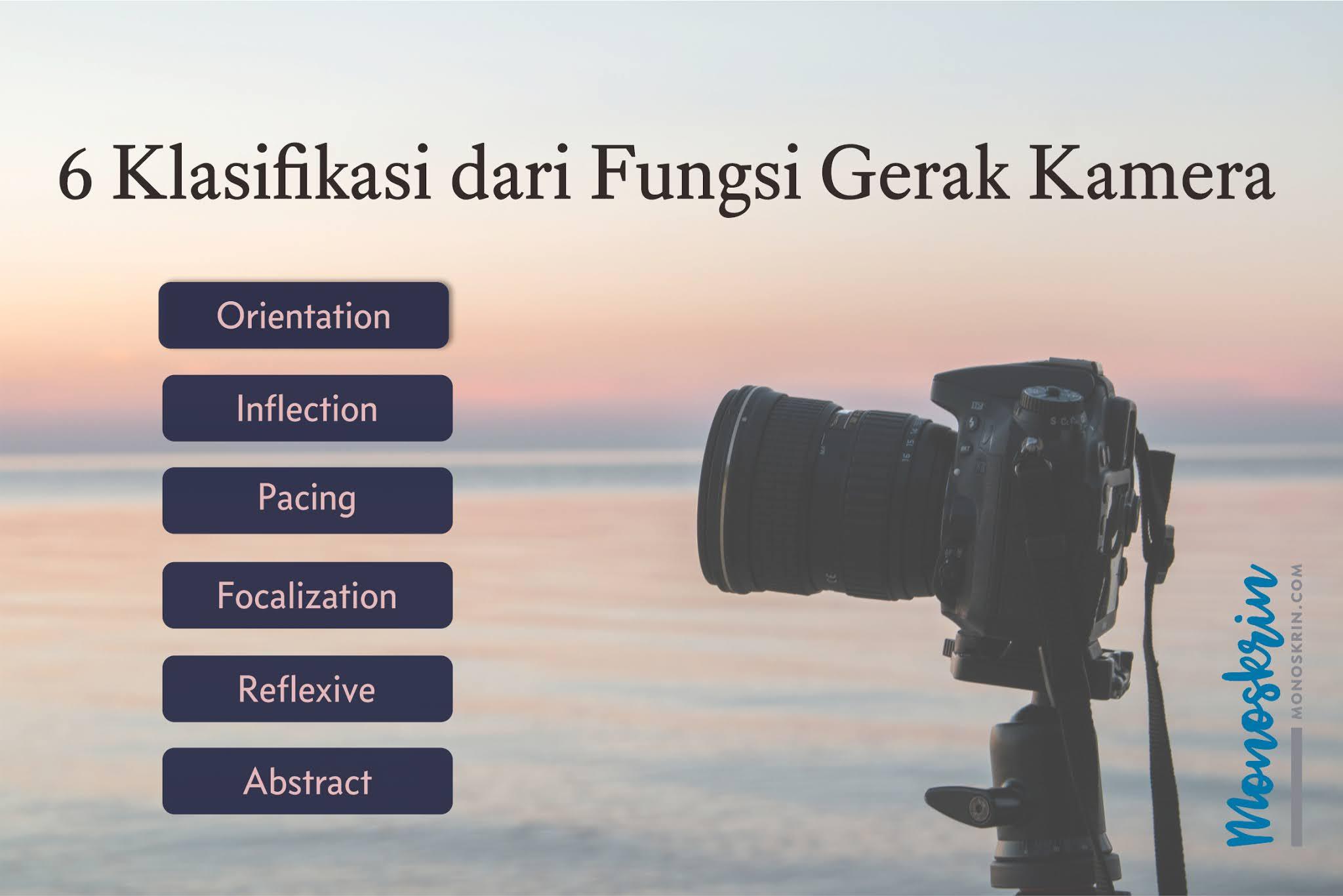 6 Klasifikasi dari Fungsi Kamera dalam Sinema Naratif