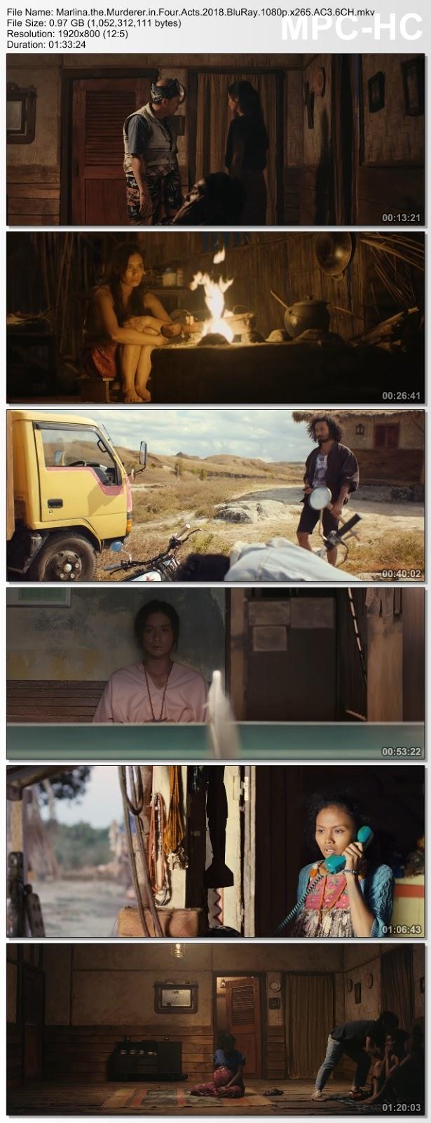 Screenshots Download Marlina, omicida in quattro atti (2018) BluRay 480p & 3GP