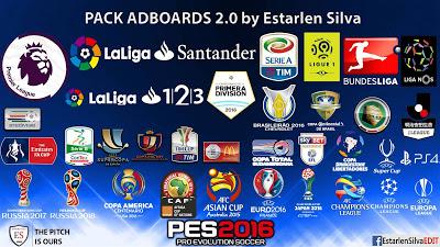 PES 2016 Esterlan Silva Adboard Pack V2