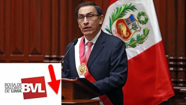 Presidente del Perú Martín Vizcarra