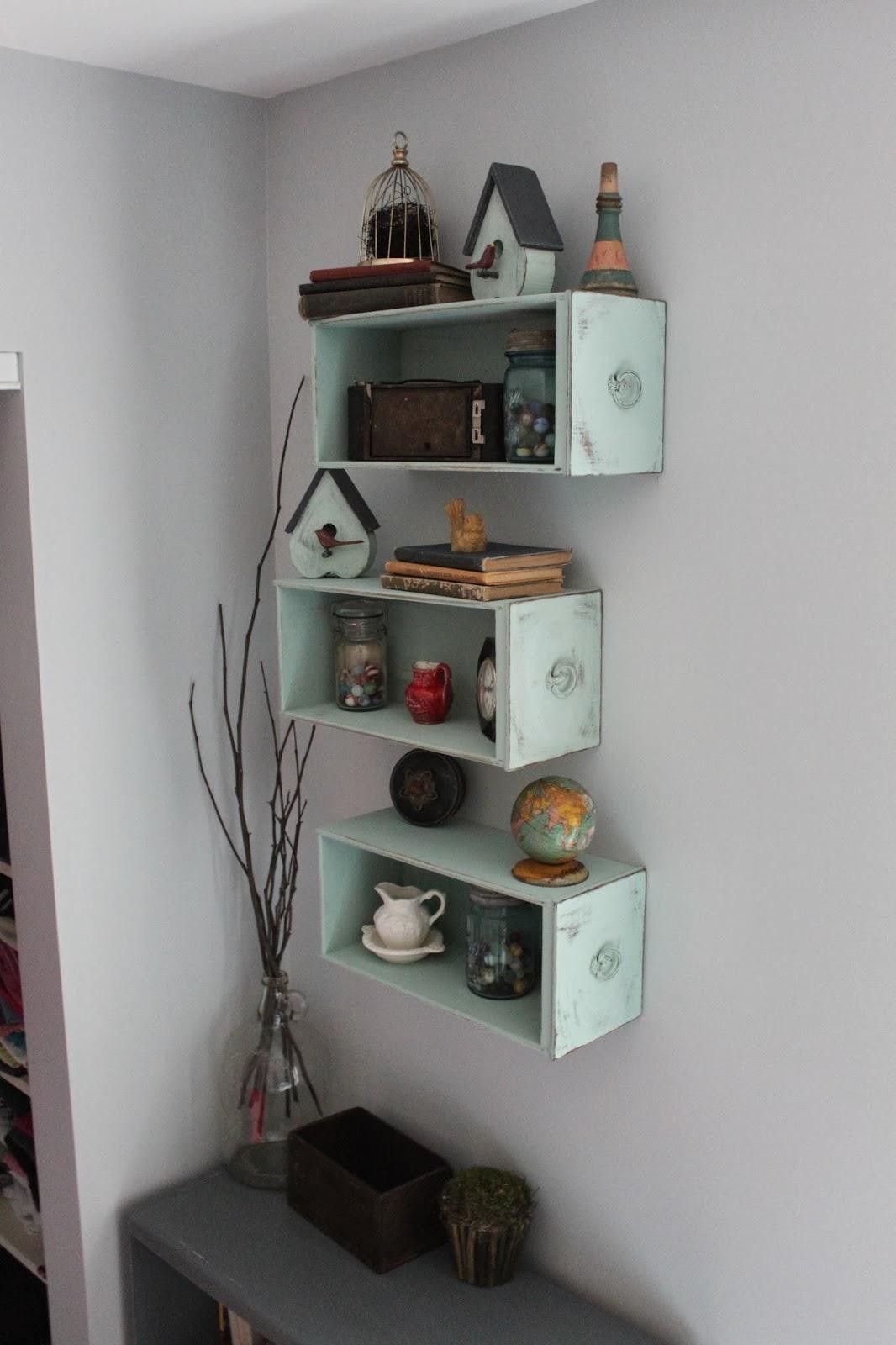 Namely Original Drawers Turned Shelves