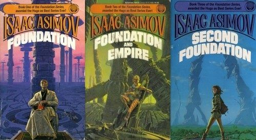 Best Book Series of All Time: Foundation by Isaac Asimov