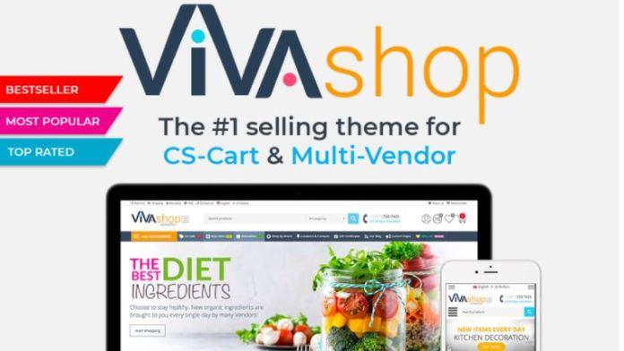 VIVASHOP V3.2 – THE #1 SELLING THEME FOR CS-CART AND MULTI-VENDOR (NEW)
