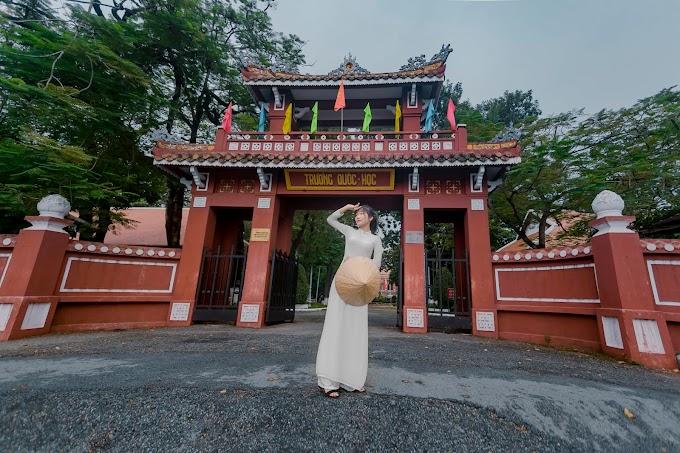 Ghé thăm Trường Quốc Học cùng cô nàng Ly Panpopo dễ thương - Photo by Đinh Công Thái #3