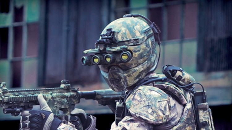 Jubah Besi Tentara Amerika