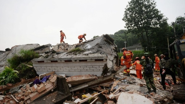 Gempa Bermagnitudo 6,4 Guncang China, 3 Orang Tewas