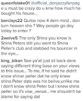 Oritsefemi trolls Shina Pellar over Quilox Nightclub saga