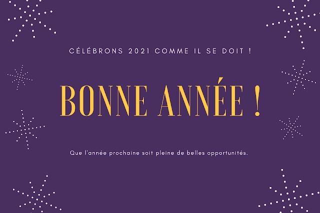 40+ Messages de bonne année 2021