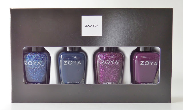 zoya happy holo-days polish quad