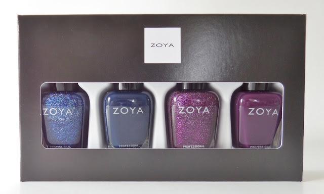 zoya happy holo-days polish quad