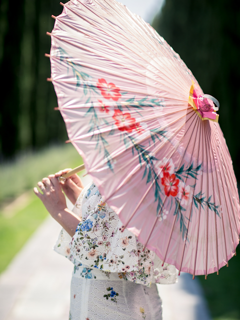 Blogger Style | As for the sun, Sunscreen and Parasol by Late Afternoon
