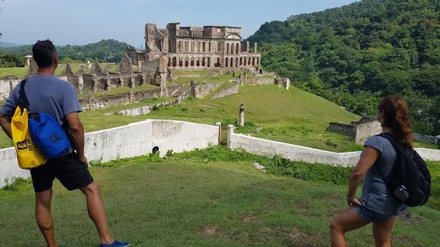 fachada del PALACIO DE SANS SOUCI en Haiti
