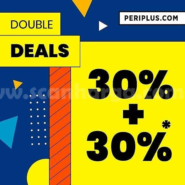 Promo Periplus Double Deals Discount 30% + 30% Off