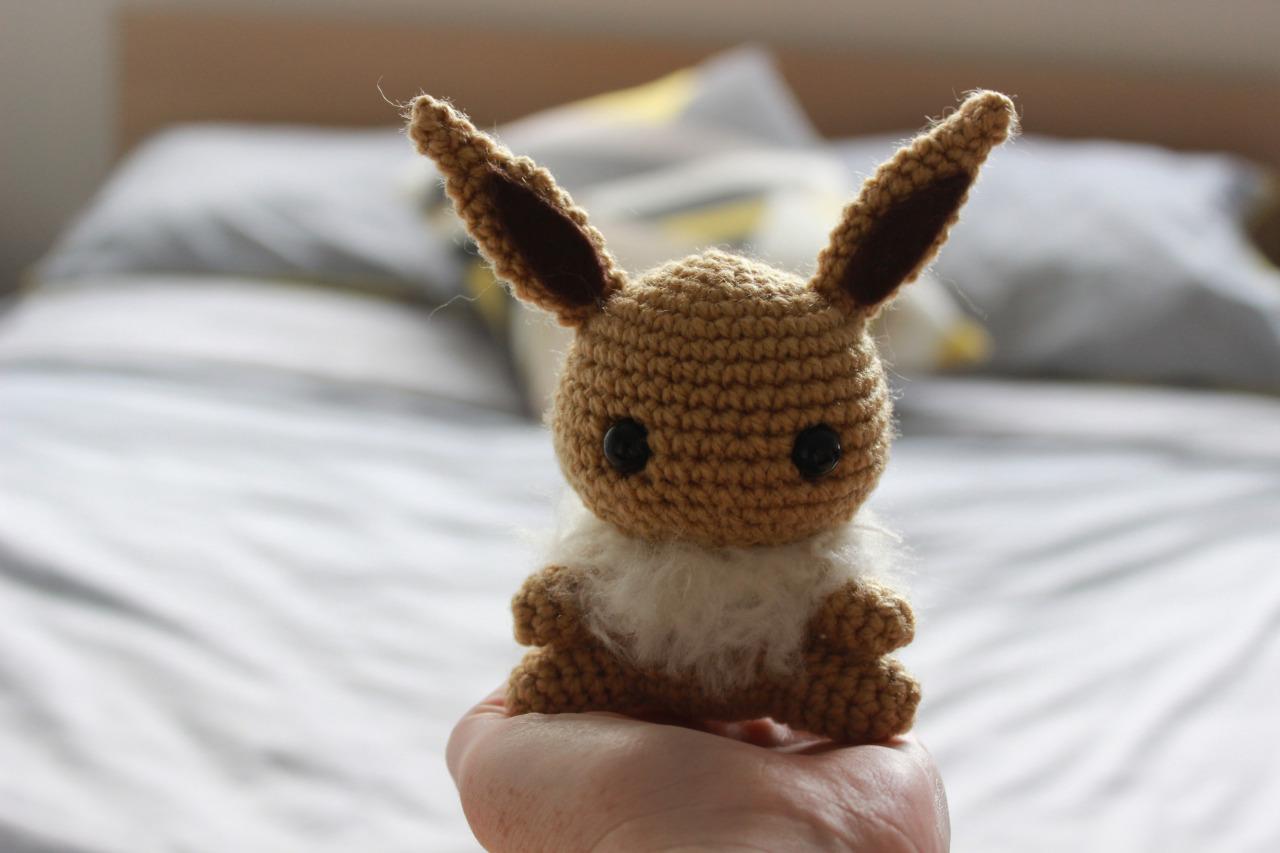 Häkelblog Täglich Neue Anleitungen Pokemon Evoli Häkelanleitung