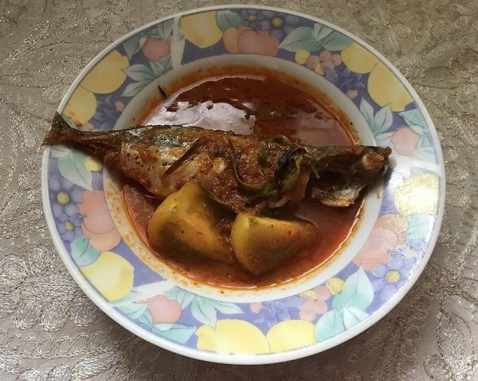 Resepi Asam Pedas Ikan Kembung Yang Sedap Dan Ringkas