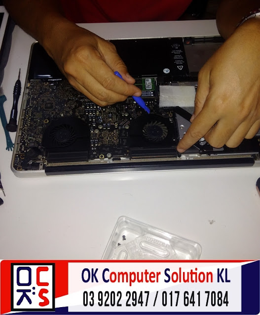 [SOLVED] SERVIS FAN MACBOOK PRO A1286 |REPAIR MAC ALAM DAMAI 2