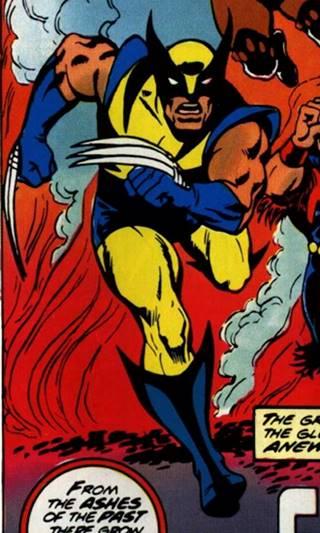 Primera aparición de Wolverine en los X-Men