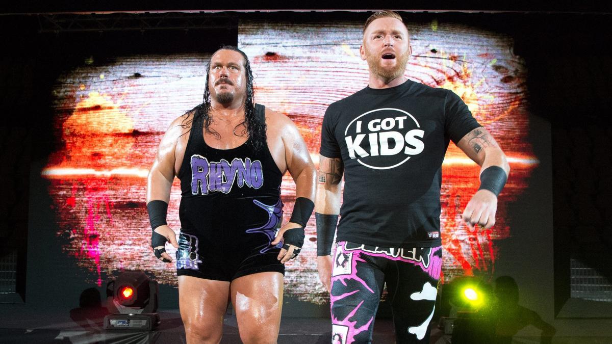 Rhyno indica possível reunião com Heath Slater no IMPACT Wrestling