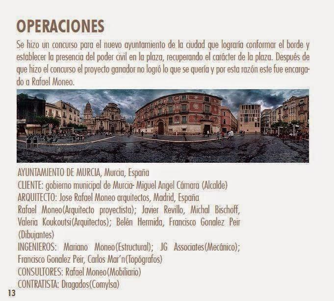 Ayuntamiento de Murcia. Rafael Moneo
