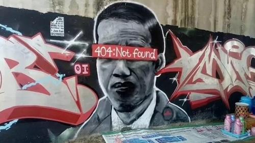 Marak Mural Kontroversi, Saan Mustofa: Mewakili Sikap Masyarakat