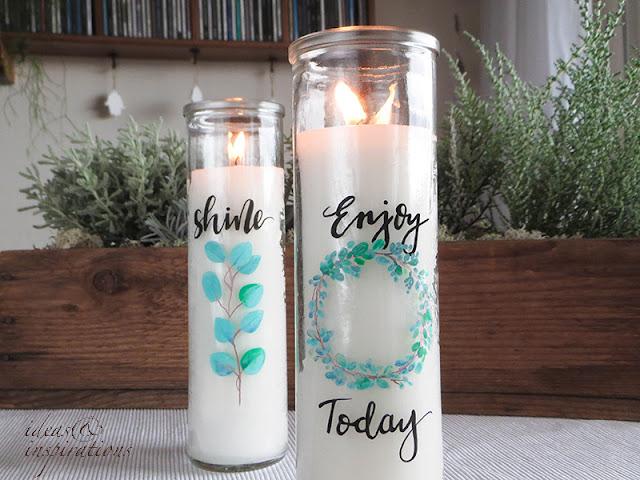 Kerzen selber gestalten