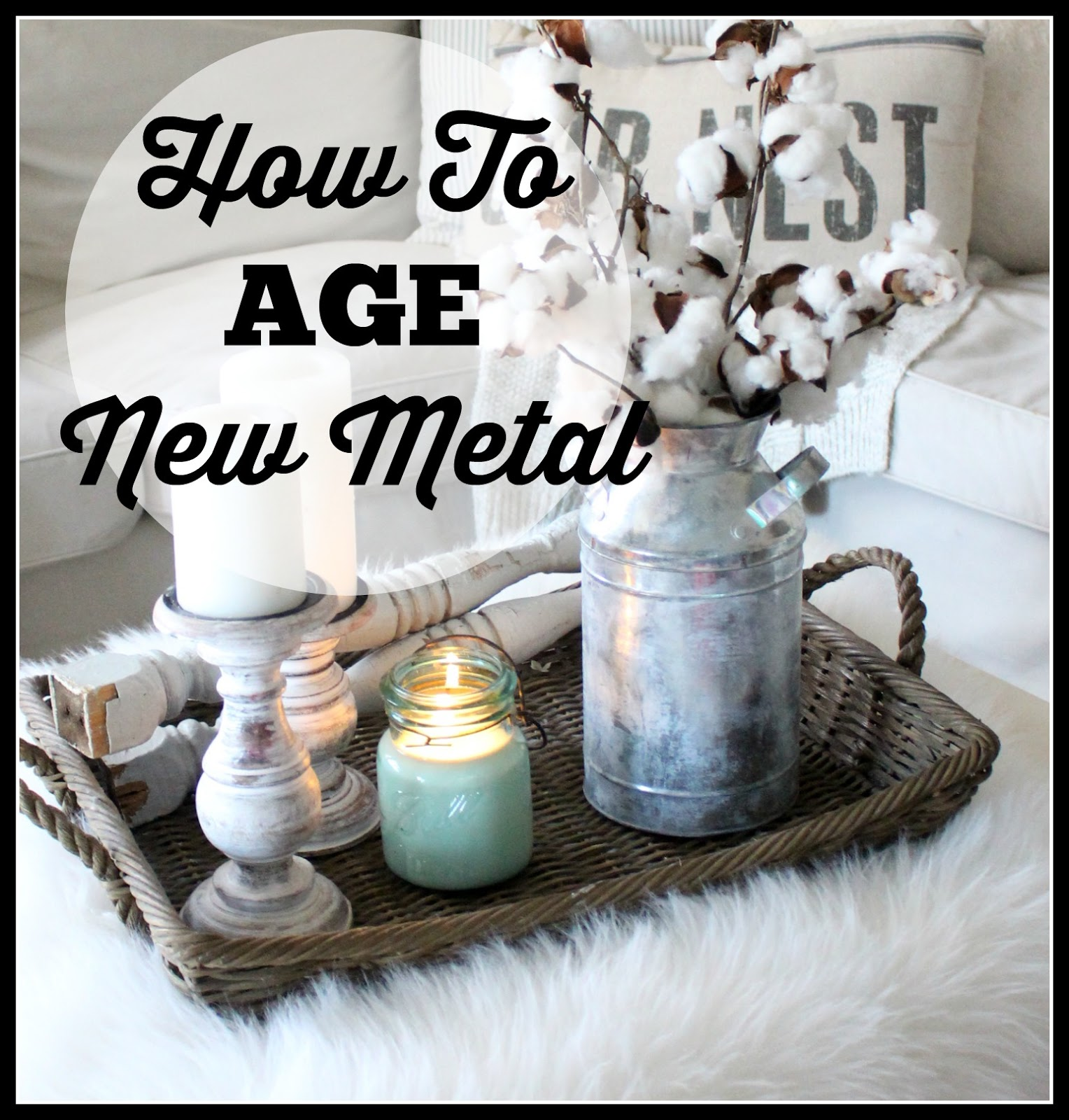 How to age metal 27