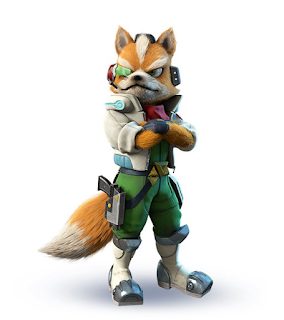Starline Fox McCloud artwork render