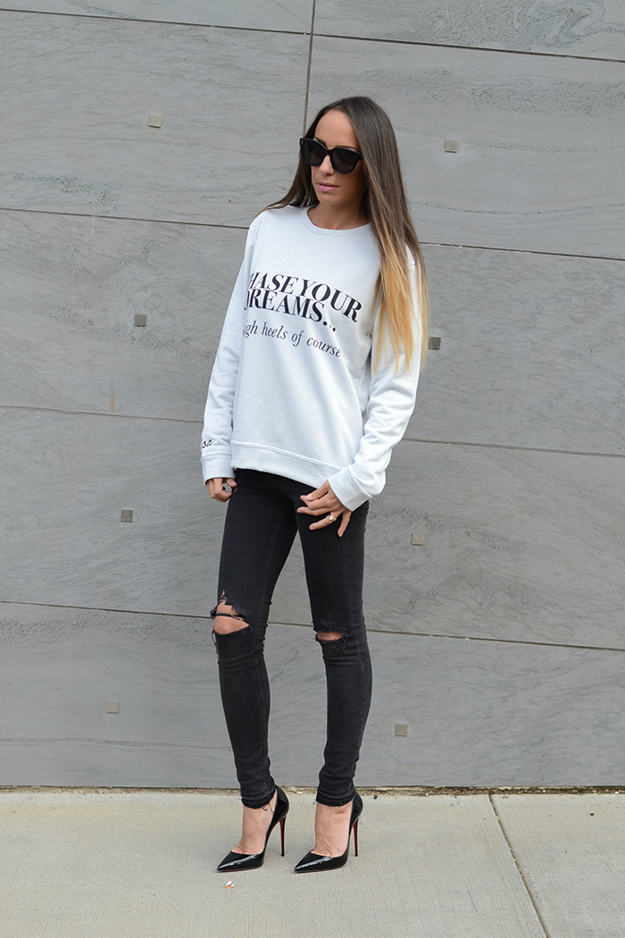 customized sweatshirt