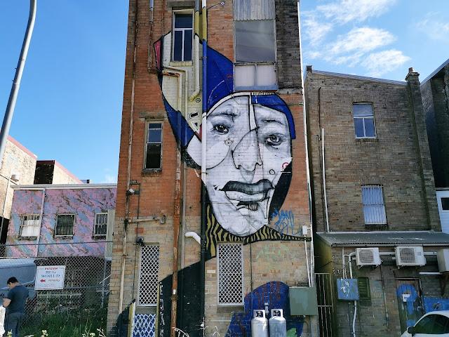Katoomba Street Art   Captain Earwax