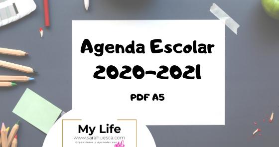 My Life Agenda Escolar 2020 2021 Gratis