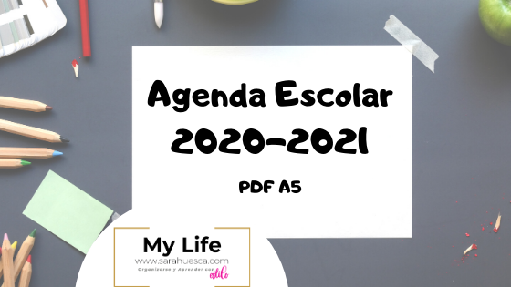 AGENDA, ESCOLAR, 2020, 2021, PDF, EDITAR, GRATIS