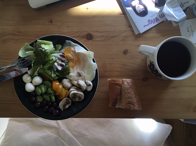 desayuno en tokio