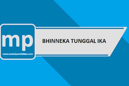 Pengertian Bhinneka Tunggal Ika Dan Pentingnya Bagi Persatuan Bangsa Indonesia