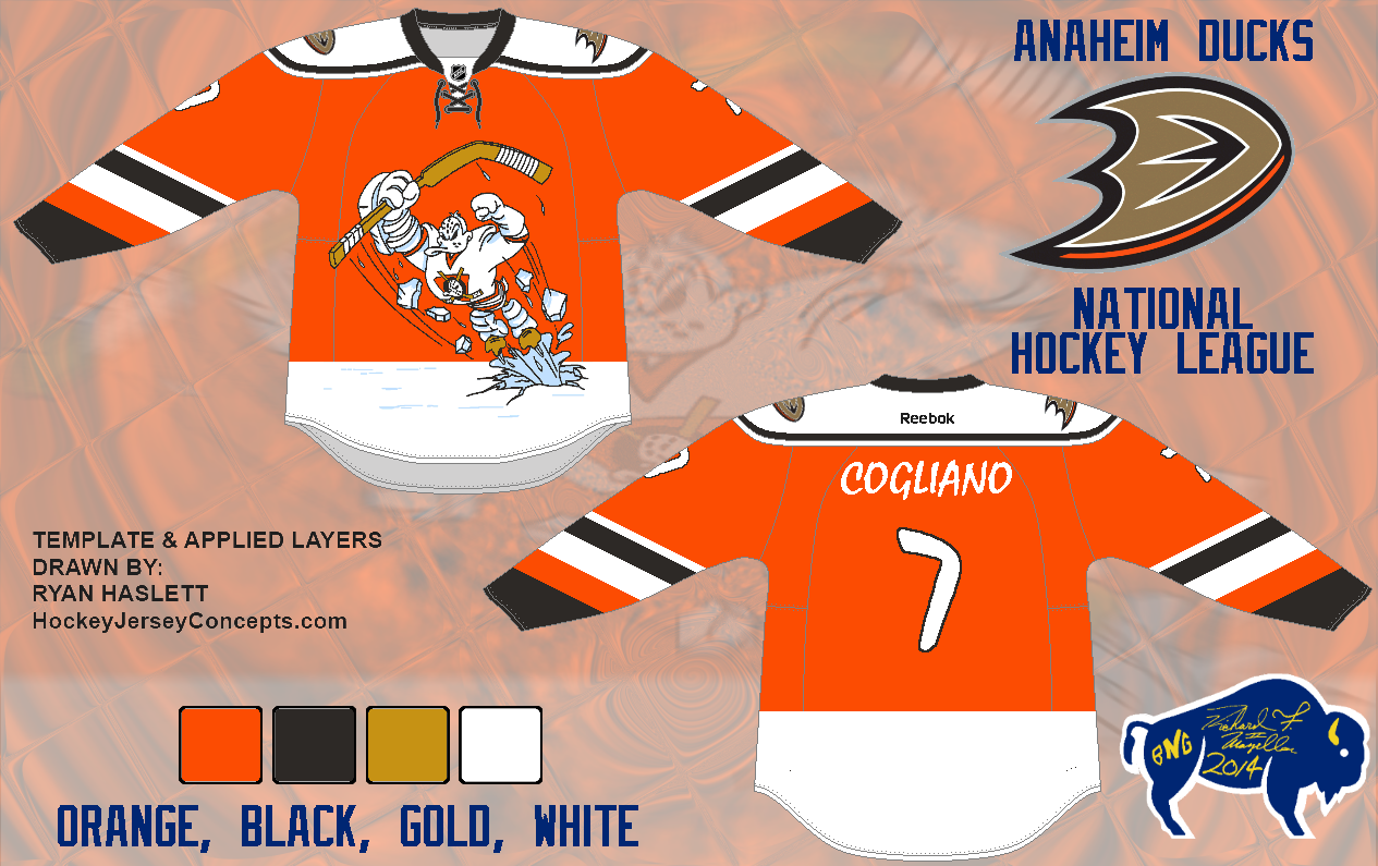 on sale 9146b 8678b Confirmed with Link: - Ducks will have orange Jerseys in ...