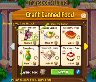 How to transfer Canned Food in Royal Story