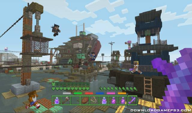 Minecraft 2017 PSN - Download game PS3 PS4 RPCS3 PC free