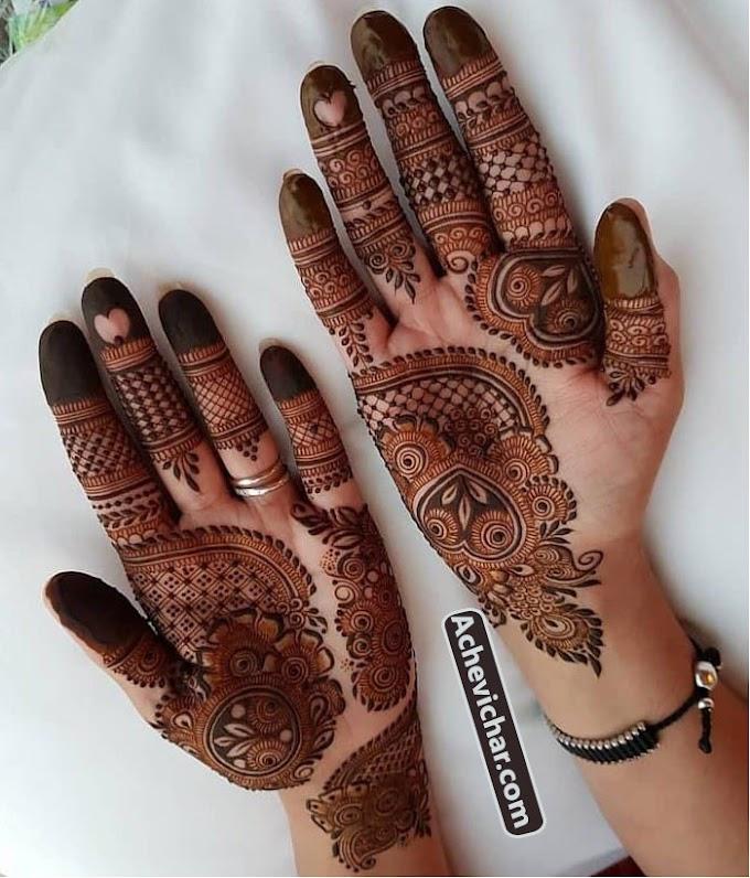 अरेबिक मेहंदी डिजाइन इमेज फोटो डाउनलोड - Arabic Mehndi Design Images Photos Download