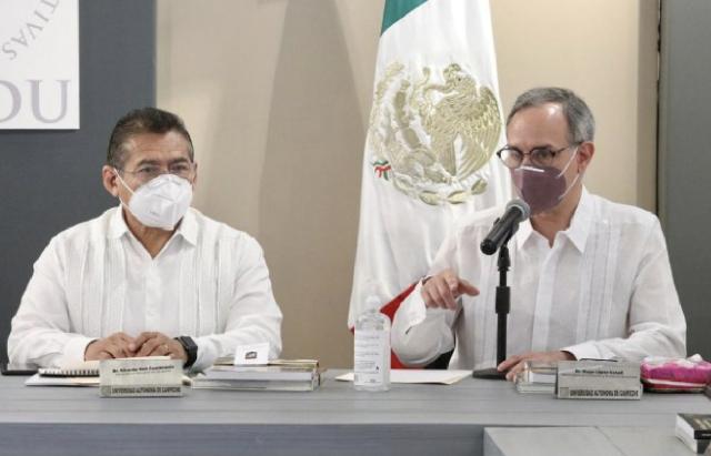 Analizan la estrategia de regreso a clases en Campeche