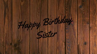 happy birthday sister pic