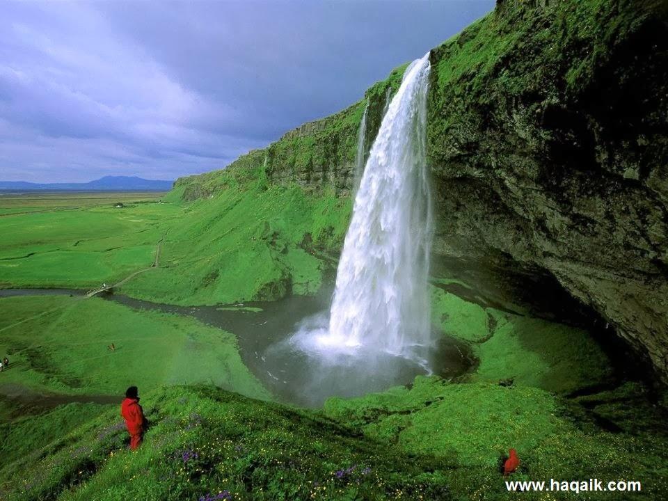 شلال Seljalandsfoss  l اجمل الشلالات في العالم 559622_1178381983719