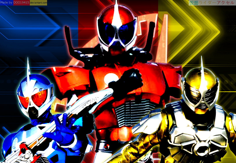 Ten Toy Gallery: Review: S.H.Figuarts Kamen Rider Accel Trial  Kamen Rider Accel