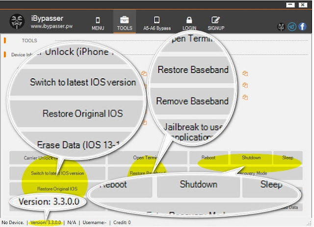 Latest iBypasser V3.3 OFFICIAL RELEASED RANZHIE Free Download