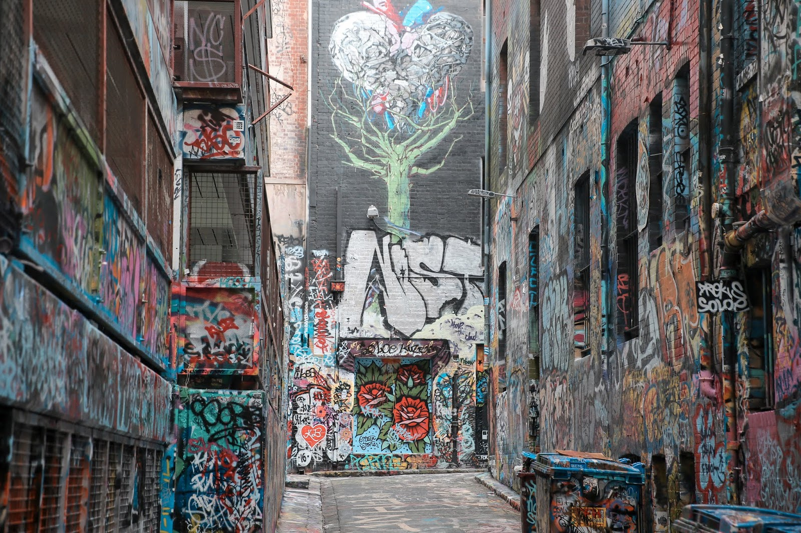 Art in Hosier Lane