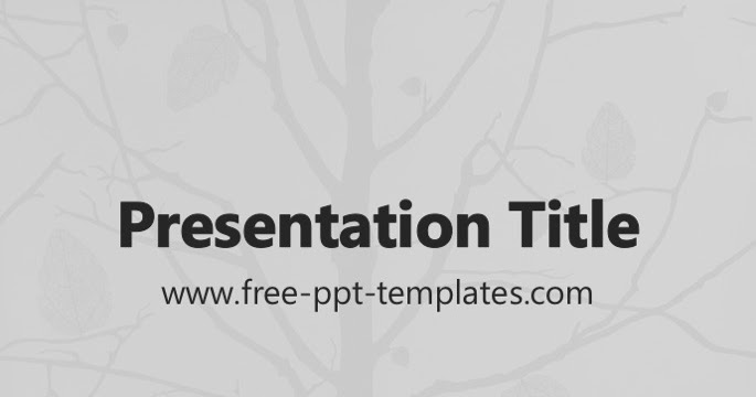 Family Tree Presentation Template Bellacoola