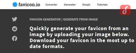 Favocon.io Generator untuk membuat favicon