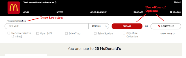 McDonalds Hours Near Me